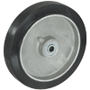 "RA80PB51 - 8"" x 1-5/8"" Rubber Mold-On-Aluminum Wheel"