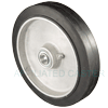 "RA80PB53 - 8"" x 1-5/8"" Rubber Mold-On-Aluminum Wheel"