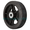 "RS10LB24 - 10"" x 3"" Rubber on Iron Wheel"
