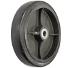 "RS12LB24 - 12"" x 3"" Rubber On Steel Wheel"
