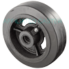 "RS60JB04 - 6"" x 2"" Rubber on Steel Wheel"