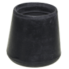 "RT08BK - 1"" Black Rubber Tip"