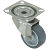 "S3620-01-TPR - 2"" Stainless Steel Plate Caster"
