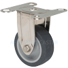 "S3620R-01-TPR - 2"" Stainless Steel Rigid Caster"