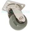"S5HU40JI7217YY - 4"" x 2"" Kingpinless Stainless Steel Swivel Caster"