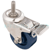 "S7SU30GL9068YY - 3"" Total Locking Caster with Polyurethane Wheel"