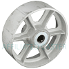"SS80KS24 - 8"" x 2-1/2"" Steel Wheel"
