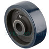 "SW60JU84 - 6"" x 2"" Crown Poly On Steel Wheel"