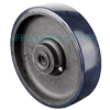 "SW80JU04 - 8"" x 2"" Crown Poly On Steel Wheel"