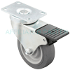 "T3NM40GI4306YY - 4"" x 1-1/4"" Total Locking Swivel Caster"
