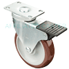 "T3PM50GM4306YY - 5"" x 1-1/4"" Total Lock Caster"