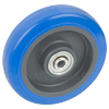 "W-5-PPBL-5200 - 5"" x 1-1/4"" Polyurethane Wheel With Ball Bearings"
