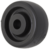 "1250-03 - 2-1/2"" Polyolefin Wheel - Hard Plastic"