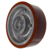 "6X1-15/16A-1"" - 6 x 1-15/16"" Poly on Aluminum Wheel"