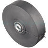 "NX80JB6512 - 8"" x 2"" High Impact Polymer Wheel"