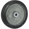 "RA80PB52 - 8"" x 1-5/8"" Rubber Mold-On-Aluminum Wheel"