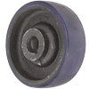 "SW60JU84M - 6"" x 2"" Crown Poly On Steel Wheel - Keyway"